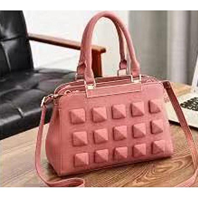 c3fb04e309d9 Generic Ladies Handbag- Salmon Pink   Best Price