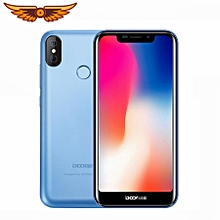 "X70 5.5"" 19:9 Android 8.1 Smartphone 4000mAh 3G WCDMA 2GB+16GB Fingerprint ID Mobile Phone - Blue"