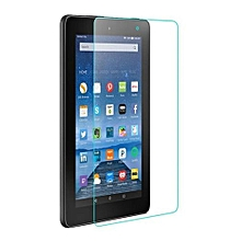 Tempered Glass Screen Protector Flim For Amazon Kindle Fire HD 8 2018 Tablet-Clear