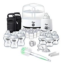 Closer To Nature Complete Feeding Set - White