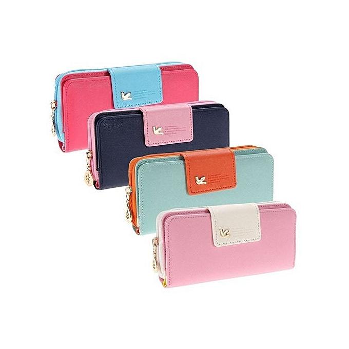 8ed6b6c67d Luxury Designer Long Clutch Famous Brand Womens Purse Walet Women Wallets  Female Bag Ladies Money Card
