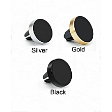 360 Degrees Rotation Phone Holder Magnet Car Mount – Silver
