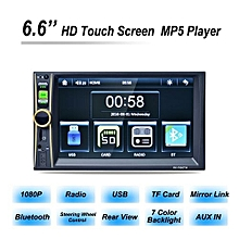 6.6 Inch Touch Screen Digital Stereo Radio HD Display Auto Car MP5 MP3 Player