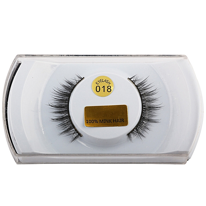 af46979b73b 3D Lashes Mink Natural Thick False Fake Eyelashes Eye Lashes Makeup  Extensions