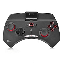 PG-9025 Multimedia Bluetooth V3.0 Game Controller Gamepad with 6 - 8m Wireless Transmission-BLACK