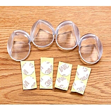 4pcs Table Corner guard Edge ANTICOLLISION Protector baby proofing
