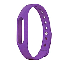 Wrist Band Replacement Bracelet For Xiaomi Band Purple