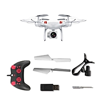 CO KY101 RC Drone 2MP Camera Wifi FPV Live Quadcopter Altitude Hold 2.4GHz-white
