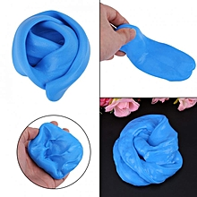 DIY Fluffy Slime Stress Relief Plasticine Anxiety Reducer Mud Clay Toy For Children Adult(Blue)