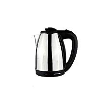 My Leadder EK-1801 - Electric Water Kettle - Silver & Black .