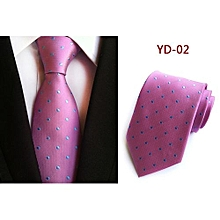 Man Ties Man Fashion Dot Ties Slim Business Party 25 Colors Necktie For Men - YD-02 - purple - One size