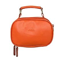 Orange Cross Body Shoulder Bag