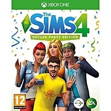 XBOX 1 Game Sims 4 Deluxe Party Edition