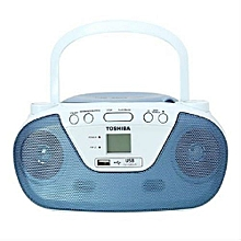 TYCRU8 - Portable CD & USB Radio - Blue&white