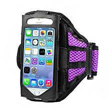 Bluelans Running Sports Mesh Arm Band Case Cover For IPhone 6 Plus Purple