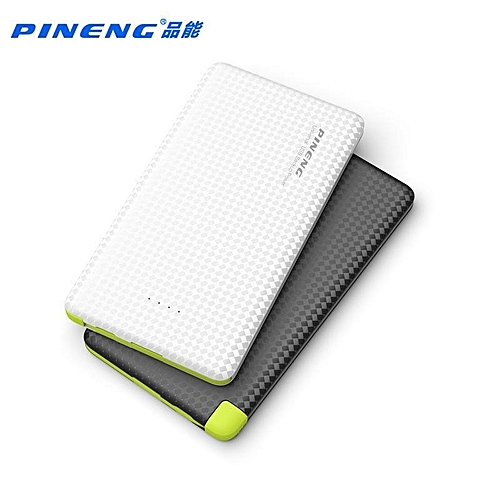 Hot Deal For Pineng PN-951 Ultra Slim Design Li-Polymer 10000mAh Powerbank with Built-in 2in1 Micro USB & iPhone 6 Lightning Charging Cable BGmall