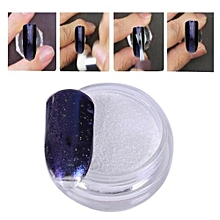 1 Box Gold Sliver Nail Glitter Powder Shinning Nail Mirror Powder 8