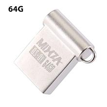 QS - Q1 USB U Disk Flash Drive Memory Storage Device 64GB - Silver
