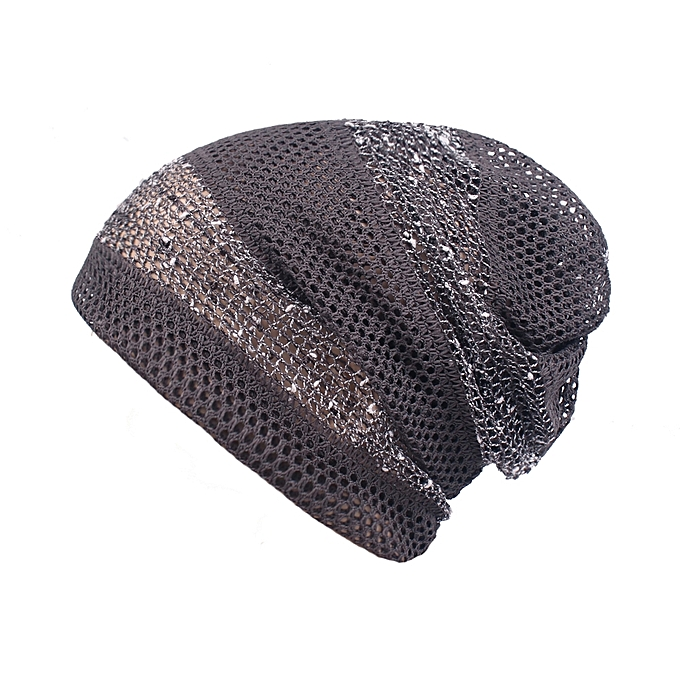 Womens Hollow Out Slouchy Beanie Hat Outdoor Breathable Chemo Cancer  Alopecia Turban ... f76d857240a