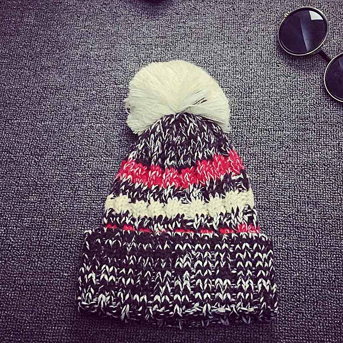 9cc81bd4 meibaol store Women Girl Colorful Slouchy Knitting Beanie Hip Hop Cap Warm  Winter Ski Hat BK