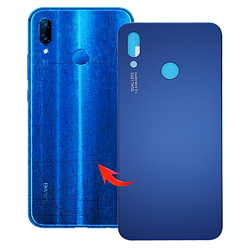 new concept 0ca4b 41cde IPartsBuy For Huawei P20 Lite Back Cover(Blue)