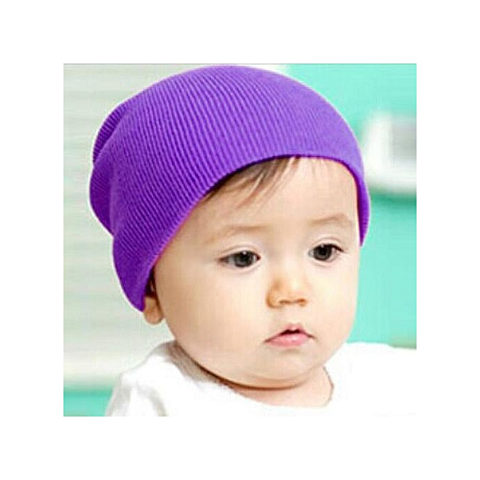 Baby Beanie Boy Girls Soft Hat Children Winter Warm Kids Knitted Cap PP e09d736fca4c