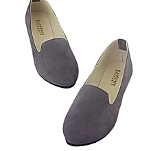 Flats Women Shoes   grey