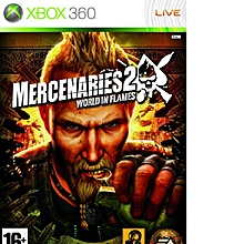 XBOX 360 Game Mercenaries 2