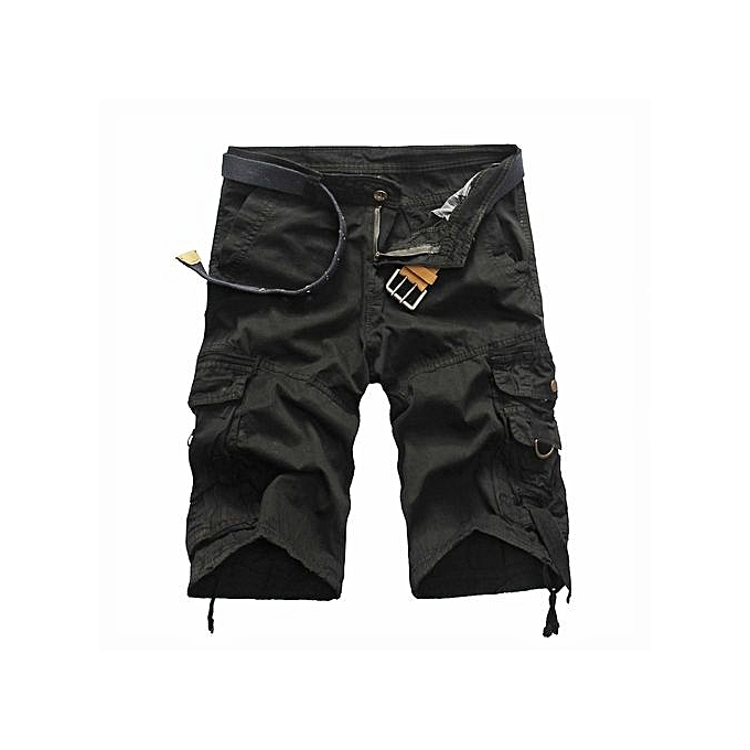 14306f24e Shorts Men Summer Cargo Shorts Men Short Pants Casual Baggy Shorts Military  Trousers Bermuda Cargo Overalls