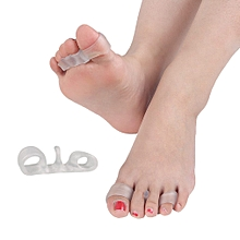 SEBS Silicone Toe Separator Stretchy Thumb Valgus Corretcor Dual Toe Protector