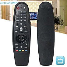 Black Shockproof Silicone Remote Control Cover Case For LG 3D Smart TV AN-MR600
