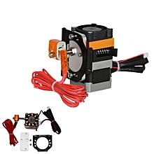 Open Mold Plastic 1.75mm 0.4mm MK8 Extruder + Motor Bracket Assembled Kit For 3D Printer