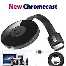 Black WiFi Chromecast Chrome Cast 2nd Gen Digital Media Video Stream HD TV HDMI
