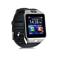 W90 Touch Screen Smart Watch Phone with Camera - Silver Black