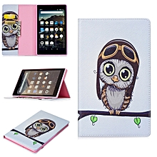 For Amazon Kindle Fire HD 8 2017 Smart Flip Folding Leather Stand Tablet Case
