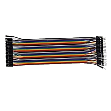 Connector Wire Breadboard Jumper Cable Male/Female For Arduino 40pcs - Multicolour