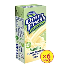 Dairyfresh Flavored Milk-Vanilla (6 Pack)
