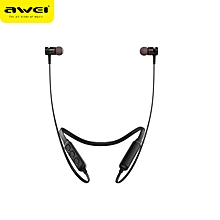 Stereo Bluetooth Sports Earphones - Black