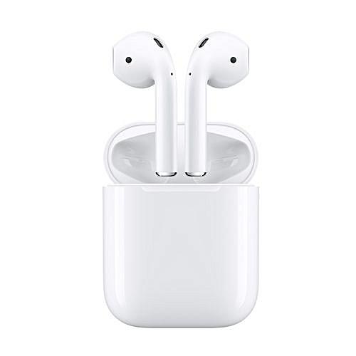 Apple AirPods Wireless Earphone Headphones Apple's Bluetooth Headphones For  IPhone IPad Mac And Apple Watch WHITE