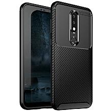 Nokia 6.1 PLus/Nokia X6 Silicone Case TPU Anti-knock Phone Back Cover - Black