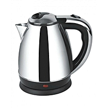 Automatic switch off electric kettle - 2.0L - Silver