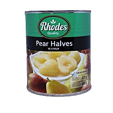 Pear Halves in Syrup - 825g