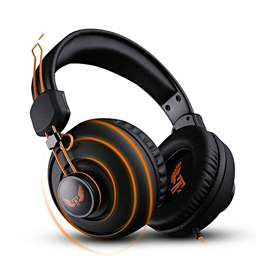 3 5mm Gaming Headset MIC Headphones Over-Ear Earphone For PC Mac Laptop PS4