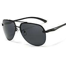 New style Driving Photochromic Sunglasses Square Men Polarized Chameleon Discoloration Sun glasses for men oculos de sol masculino-black