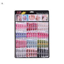 Nail care buy online jumia kenya 144pcs mixed set false nail tips artificial fake nails art acrylic manicure gel colorful prinsesfo Choice Image