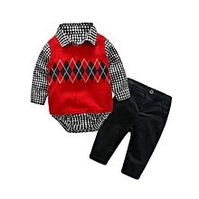 Boys 3 Pieces set  (Age:9 Month old boy), Formal Boys Suit