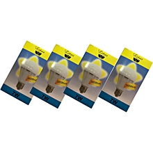 4 Pack LED Bulb - 7W - E27 - Warm White