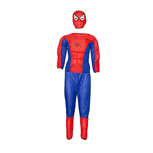 Bng Spiderman Costume Red Blue Best Price Jumia Kenya