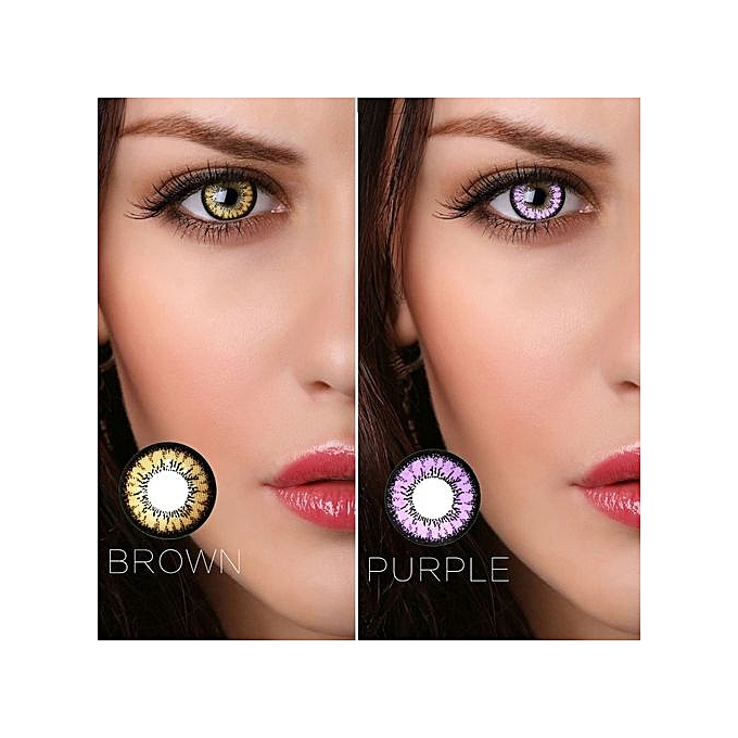 Buy Generic 1 Pair Fashion Colored Cosmetic Contact Lenses Circle