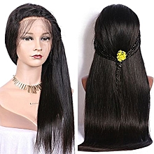 WigFinity Hair 100% Human Hair Full Lace Peruvian Silky Straight Wig